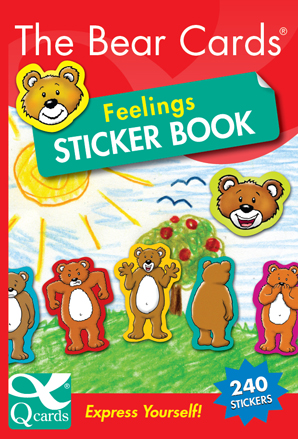 The Bear Cards Feelings Stcker Book